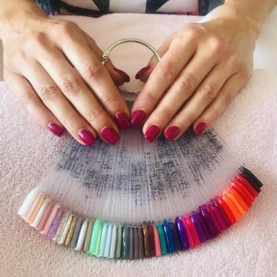 couleurs gels UV