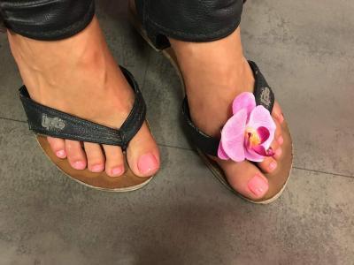 des pieds tout beau pour l'été